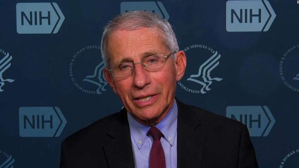 El doctor Fauci y la analogía del baloncesto vs. coronavirus